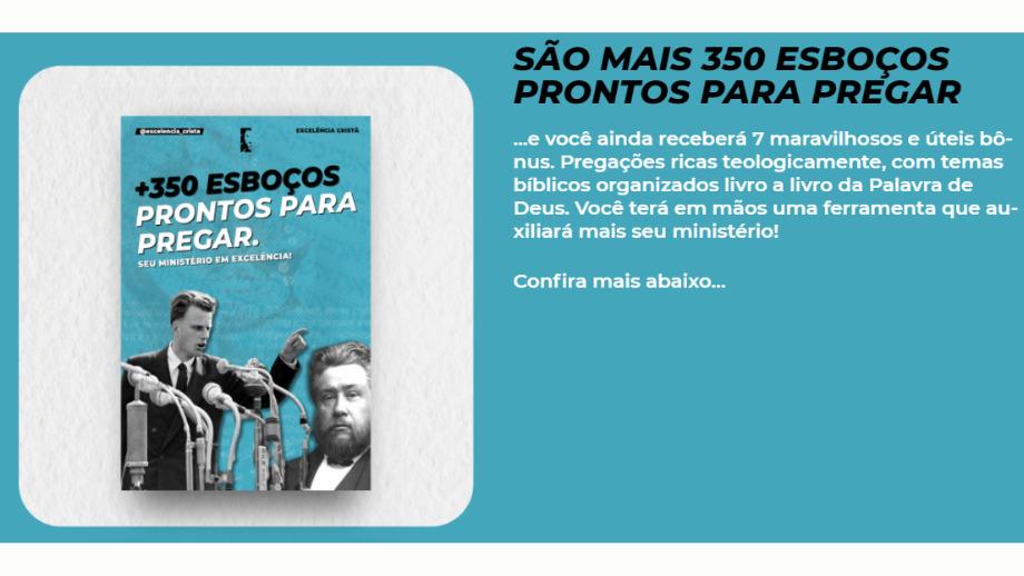 350 ESBOÇOS PARA PREGAR