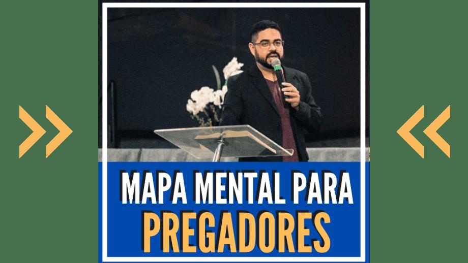 mapa mental para pregadores curso